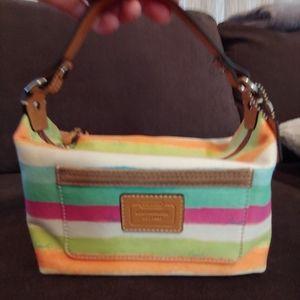 Coach mini satchel